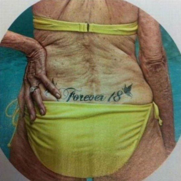 What does a tramp stamp mean
