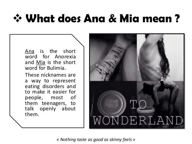 What does ana mean