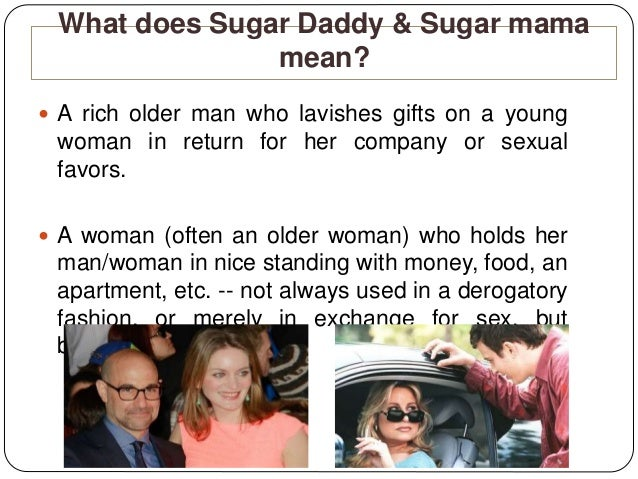 What does sugar mama mean