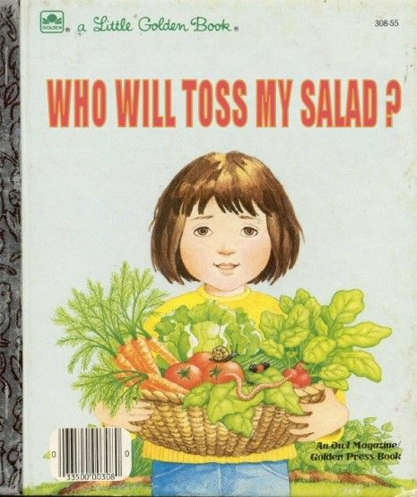 What does toss my salad mean