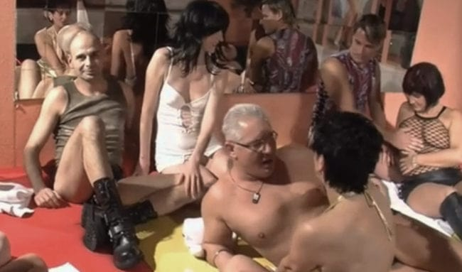 What is a swingers party