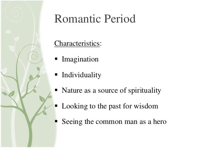 What is one important element of romantic literature