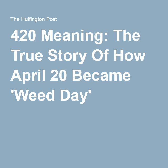Whats 420 friendly mean