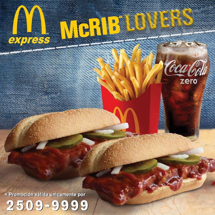 When is the mcrib coming back 2016