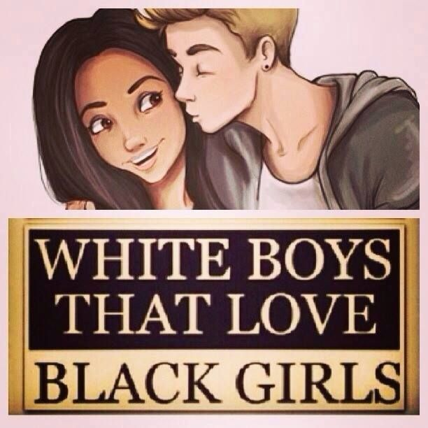 White guys who like black ladies