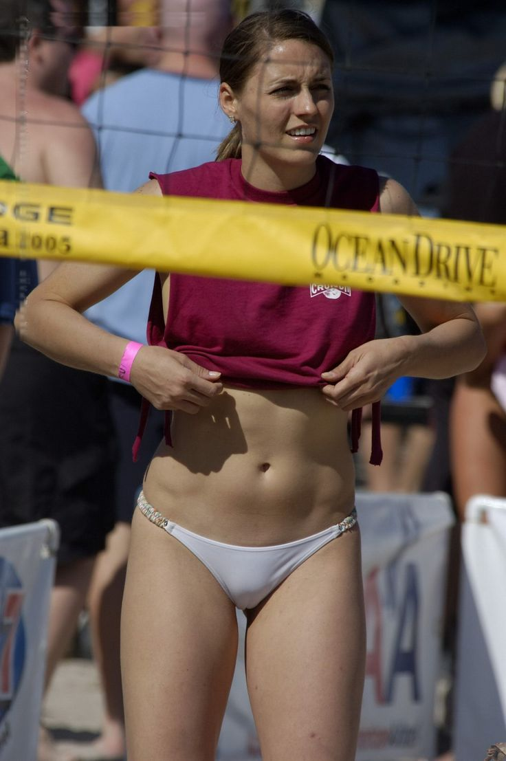 Women with camel toe