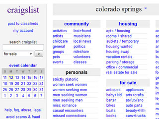Www craiglist com colorado springs