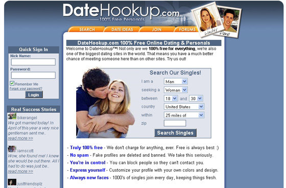Www dating sites free